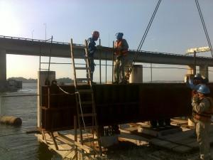 Porto do RIO [Terminais MULTI e LIBRA] - Prova de Carga Estática nas Estacas Pré-moldadas