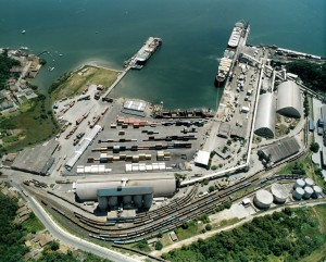 Porto de São Francisco do Sul - Vista geral do porto