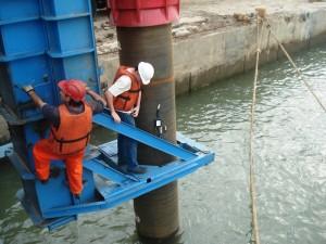 Porto de Itajaí - Prova de Carga Dinâmica nas Estacas Metálicas Tubadas