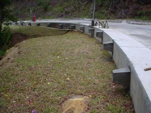 Projeto de contenção de encosta no Pico do Couto