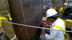 Ponte Campos dos Goytacazes - Prova de Carga Dinâmica nas Estacas Metálicas Tubadas